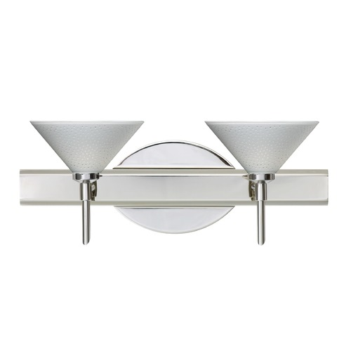 Besa Lighting Besa Lighting Kona Chrome LED Bathroom Light 2SW-282453-LED-CR