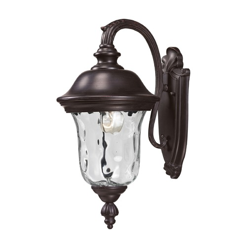 Z-Lite Z-Lite Armstrong Bronze Outdoor Wall Light 534S-RBRZ