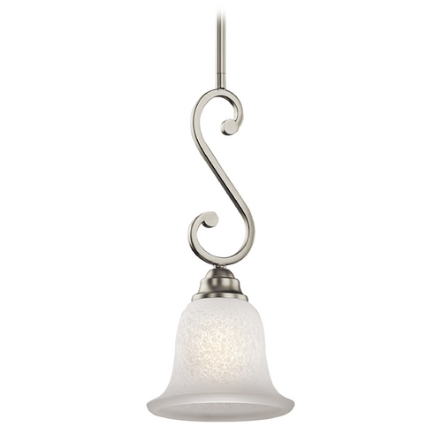 Kichler Lighting Kichler Mini-Pendant Light with White Glass 43230NI