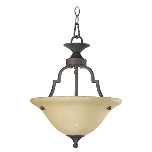 Quorum Lighting Quorum Lighting Coventry Toasted Sienna Pendant Light 215-44