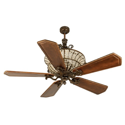 Craftmade Lighting Craftmade Lighting Cortana Peruvian Bronze Ceiling Fan with Light K10882