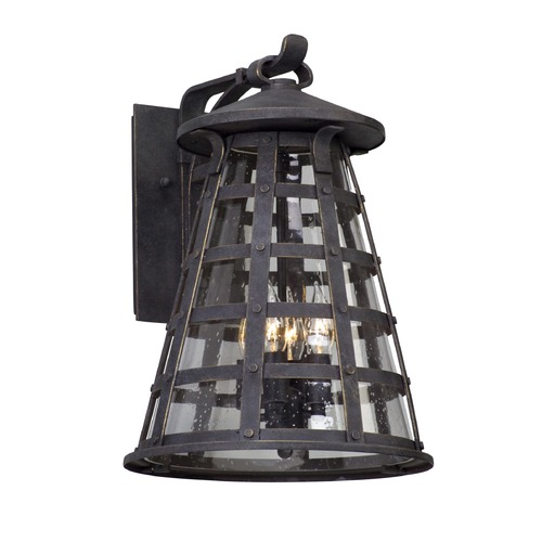 Troy Lighting Troy Lighting Benjamin Vintage Iron LED Outdoor Wall Light BL5163