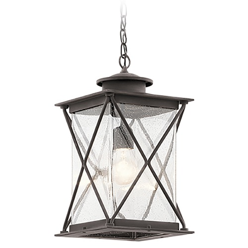 Kichler Lighting Kichler Lighting Argyle Weathered Zinc Outdoor Hanging Light 49747WZC