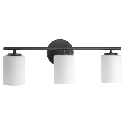Progress Lighting Modern Bathroom Light Black Replay by Progress Lighting P2159-31