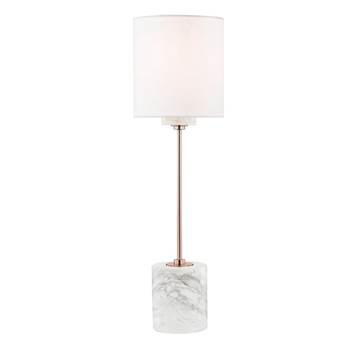 Mitzi by Hudson Valley Contemporary Table Lamp Copper Mitzi Fiona by Hudson Valley HL153201-POC