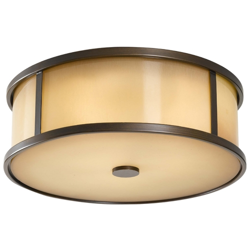 Feiss Lighting Modern Close To Ceiling Light in Heritage Bronze Finish OL7613HTBZ