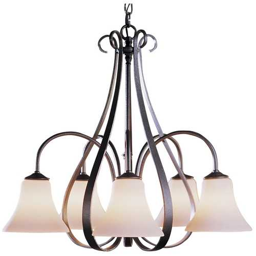 Hubbardton Forge Lighting Five-Light Chandelier 101445-20-G22