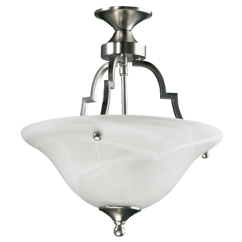 Quorum Lighting Quorum Lighting Coventry Satin Nickel Pendant Light 215-65