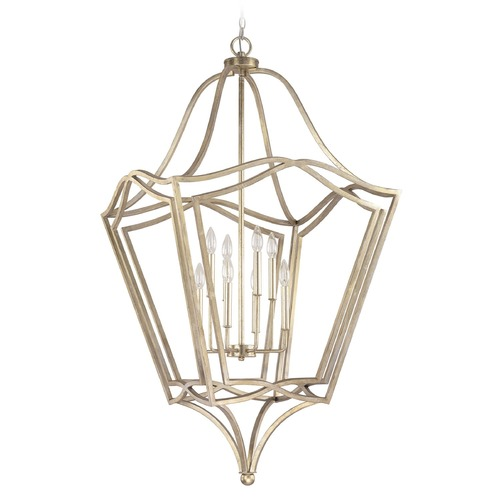 Capital Lighting Capital Lighting Foyer Winter Gold Pendant Light 9653WG
