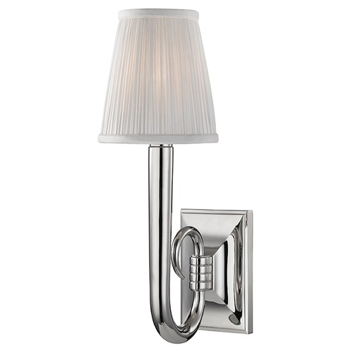 Hudson Valley Lighting Douglas 1 Light Sconce - Polished Nickel 1111-PN