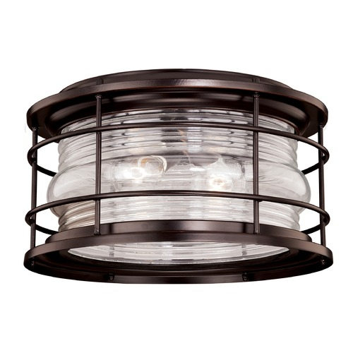 Vaxcel Lighting Hyannis Burnished Bronze Outdoor Ceiling Light by Vaxcel Lighting T0166