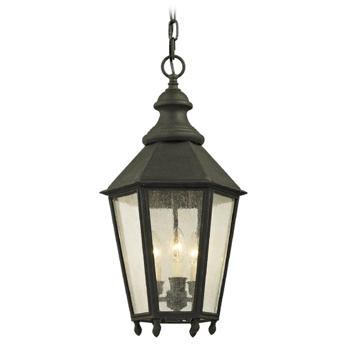 Troy Lighting Troy Lighting Savannah Vintage Iron Outdoor Hanging Light F6437