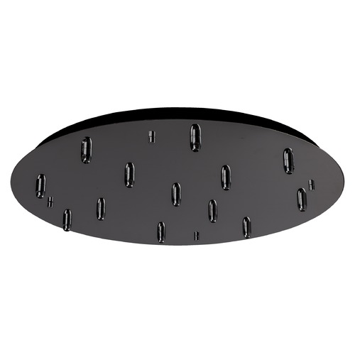 Kuzco Lighting Kuzco Lighting Multi-Port Canopy Black Chrome Ceiling Adaptor CNP13AC-BC