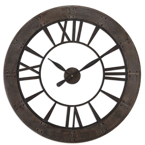 Uttermost Lighting Uttermost Ronan Wall Clock 06085