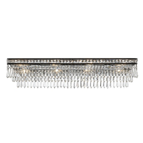 Crystorama Lighting Crystorama Lighting Mercer English Bronze Bathroom Light 5267-EB-CL-MWP