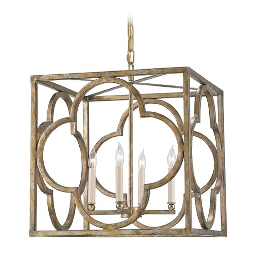Currey and Company Lighting Currey and Company Lighting Cosette Peppercorn Gold Pendant Light 9360