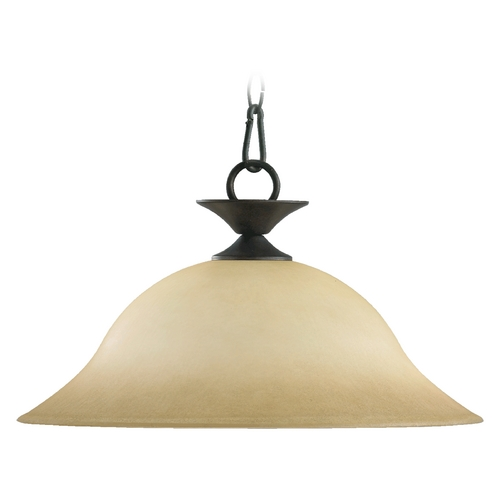 Quorum Lighting Quorum Lighting Coventry Toasted Sienna Pendant Light 685-44