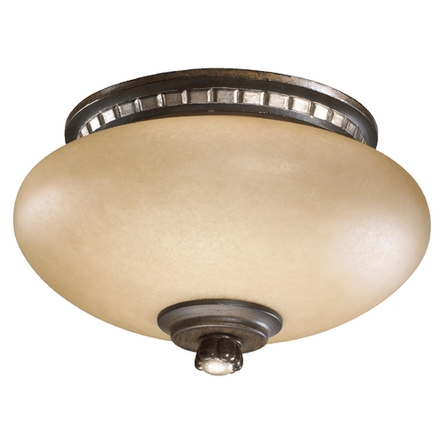 Quorum Lighting Quorum Lighting Ashfield Walnut with Antique Flemish Fan Light Kit 2288-9124
