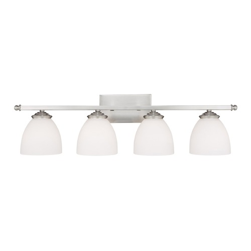 Capital Lighting Capital Lighting Chapman Matte Nickel Bathroom Light 8404MN-202