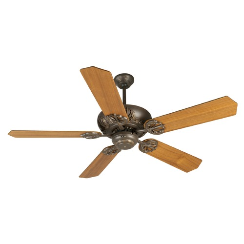 Craftmade Lighting Craftmade Lighting Cordova Aged Bronze Textured Ceiling Fan Without Light K10901