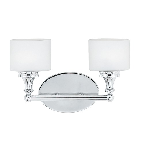 Quoizel Lighting Quoizel Lighting Quinton Polished Chrome Bathroom Light QI8602CLED