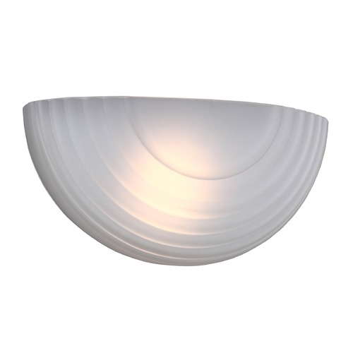 Sea Gull Lighting Sea Gull Decorative Wall Sconce White LED Sconce 412391S-15