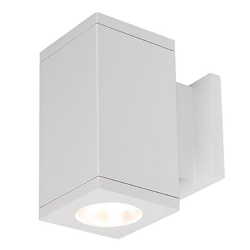 WAC Lighting Wac Lighting Cube Arch White LED Outdoor Wall Light DC-WS06-S827S-WT