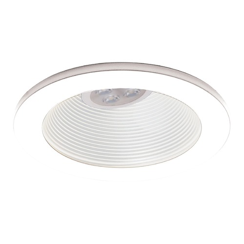 WAC Lighting Wac Lighting 4 Low Volt White / White LED Recessed Trim HR-8411LED-WT/WT