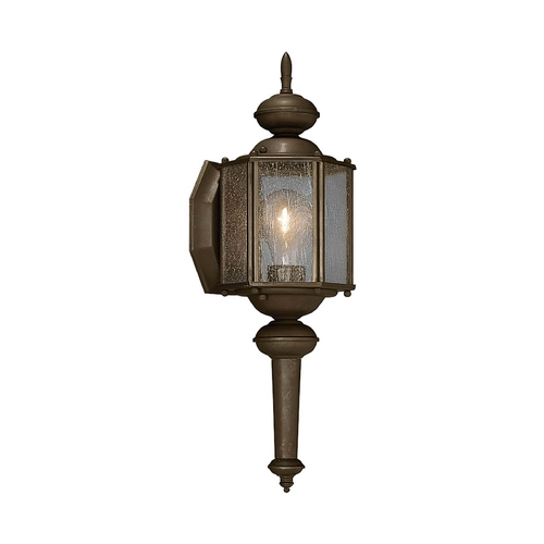 Progress Lighting Outdoor Wall Light with Clear Glass in Antique Bronze Finish P5773-20