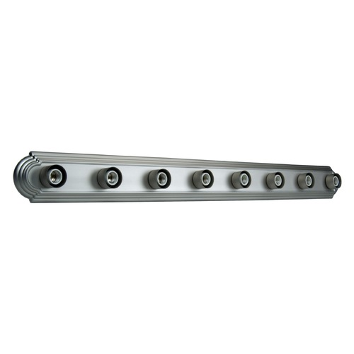 Jeremiah Lighting Jeremiah Racetrack Brushed Satin Nickel Bathroom Light 11048BN8