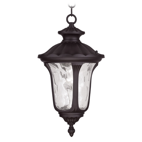 Livex Lighting Livex Lighting Oxford Bronze Outdoor Hanging Light 7854-07