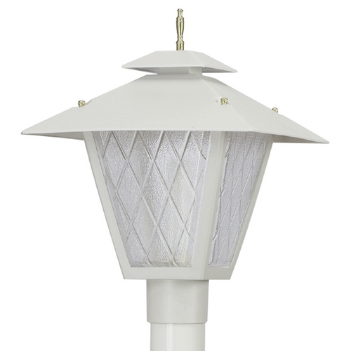 Wave Lighting Wave Lighting Marlex Colonial White Post Light 115