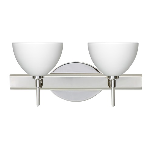 Besa Lighting Besa Lighting Brella Chrome LED Bathroom Light 2SW-467907-LED-CR