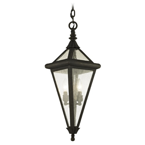 Troy Lighting Troy Lighting Geneva Vintage Bronze Outdoor Hanging Light F6477