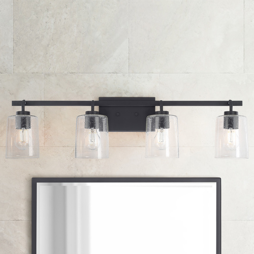 Black Bathroom Light Fixtures, Modern Bathroom Light Fixtures Matte Black