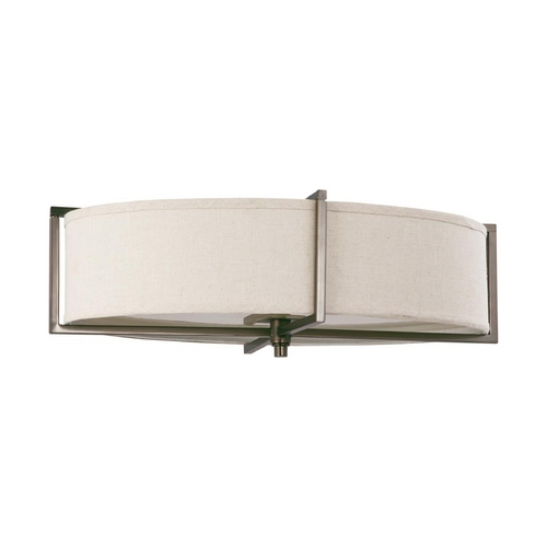 Nuvo Lighting Oval Flushmount Light in Hazel Bronze Finish 60/4049