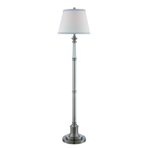 Lite Source Lighting Lite Source Gael Gun Metal Floor Lamp with Empire Shade LS-82528