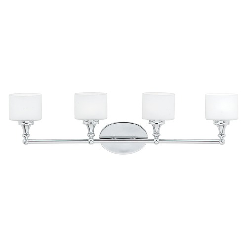 Quoizel Lighting Quoizel Lighting Quinton Polished Chrome Bathroom Light QI8604CLED
