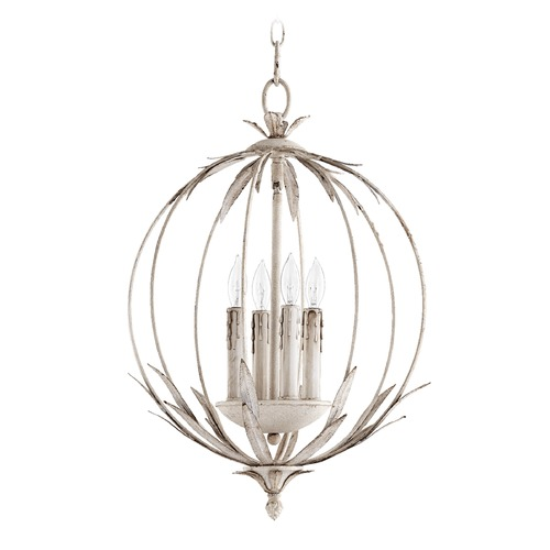 Quorum Lighting Quorum Lighting Flora Persian White Pendant Light 6372-4-70