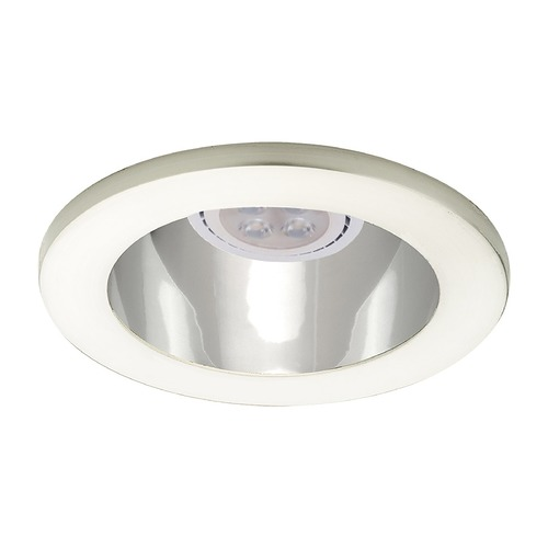 WAC Lighting Wac Lighting 4 Low Volt Specular Clear / Brushed Nickel LED Recessed Trim HR-D412LED-SC/BN