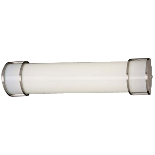 Minka Lavery Energy Efficient Brushed Nickel Bathroom Light - Vertical or Horizontal Mounting 642-PL