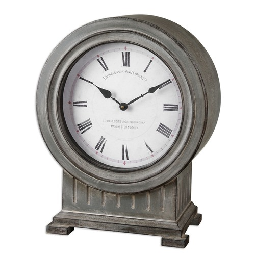 Uttermost Lighting Uttermost Chouteau Mantel Clock 06088