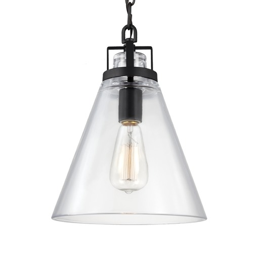 Feiss Lighting Feiss Frontage Oil Rubbed Bronze Mini-Pendant Light P1370ORB