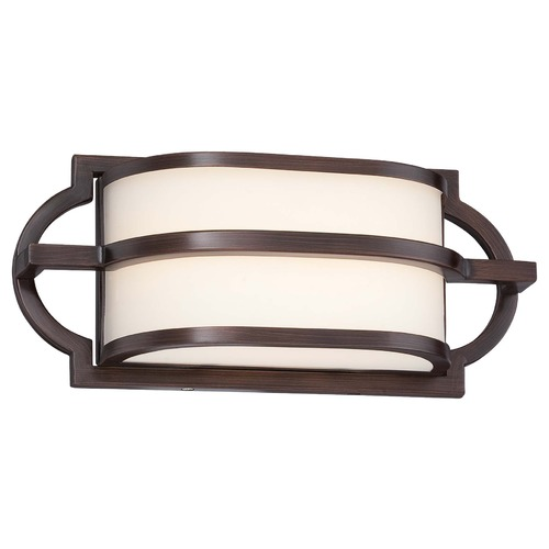 Minka Lavery Minka Mission Grove Dark Brushed Bronze Bathroom Light 381-267B-L