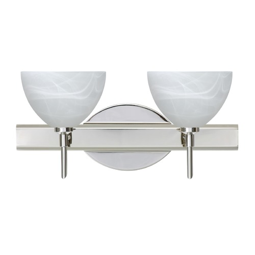 Besa Lighting Besa Lighting Brella Chrome LED Bathroom Light 2SW-467952-LED-CR