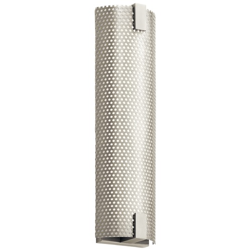 Elan Lighting Elan Lighting Mesh Brushed Nickel LED Vertical Bathroom Light 83912