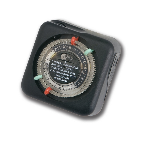 Kichler Lighting Timer in Black Finish 15557BK