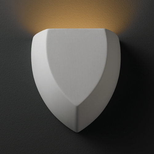 Justice Design Group Sconce Wall Light in Bisque Finish CER-5850-BIS