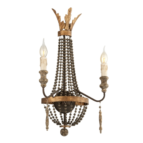 Troy Lighting Sconce Wall Light in French Bronze Finish B3532