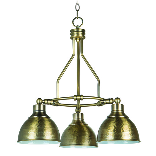 Jeremiah Lighting Jeremiah Timarron Legacy Brass Chandelier 35923-LB